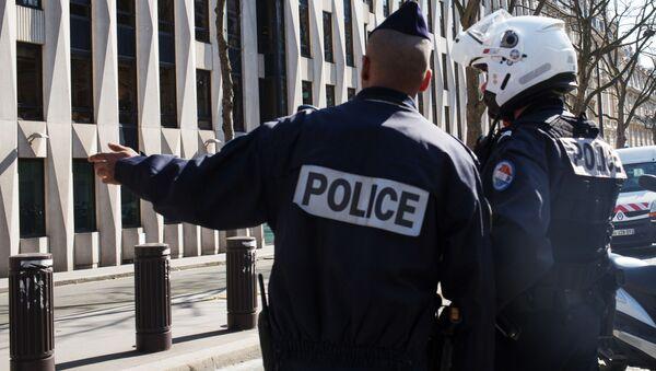 Policja w Paryżu - Sputnik Polska