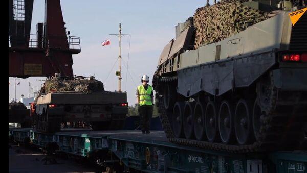 Pojazdy opancerzone z batalionu Telemark Armii Norweskiej  - Sputnik Polska