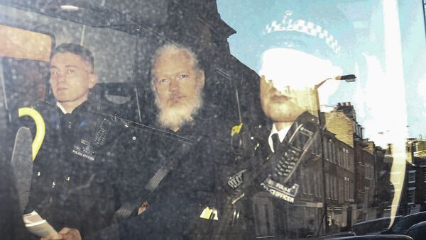 Julian Assange - Sputnik Polska