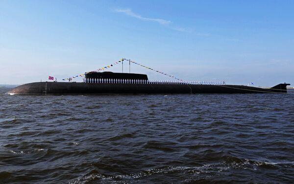Atomowy okręt podwodnyprojektu 949А«Antej» - Sputnik Polska