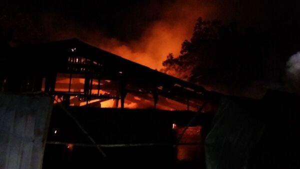 Pożar w szpitalu psychiatrycznym w Odessie - Sputnik Polska