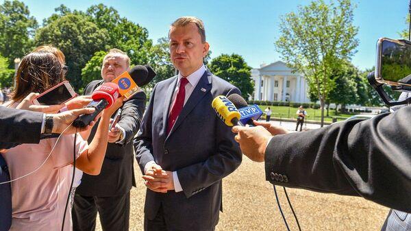 Mariusz Błaszczak z wizytą w USA  - Sputnik Polska
