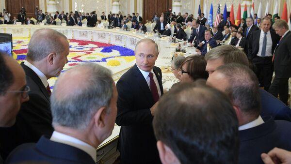 Wizyta robocza prezydenta Rosji Władimira Putina w Tadżykistanie w celu wzięcia udziału w konferencji CICA - Sputnik Polska