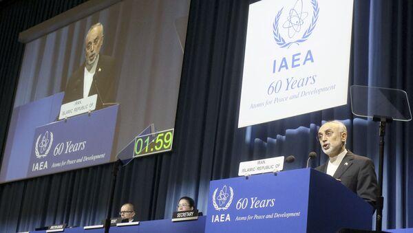 Szef Irańskiej Organizacji Energii Atomowej Ali Akbar Salehi. Zdjęcie archiwalne - Sputnik Polska