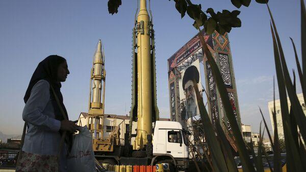 Wystawa uzbrojenia w Iranie - Sputnik Polska