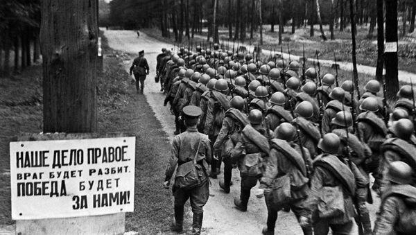 Mobilizacja. Moskwa, 23 czerwca 1941 roku - Sputnik Polska