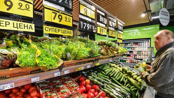 Supermarket w Moskwie - Sputnik Polska