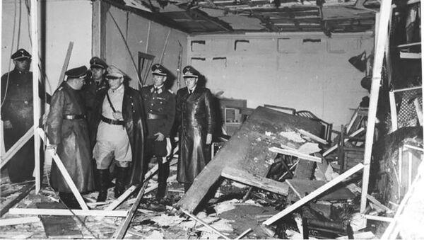 Pomieszczenie baraku, w którym 20 lipca 1944 roku dokonano zamachu na Adolfa Hitlera - Sputnik Polska
