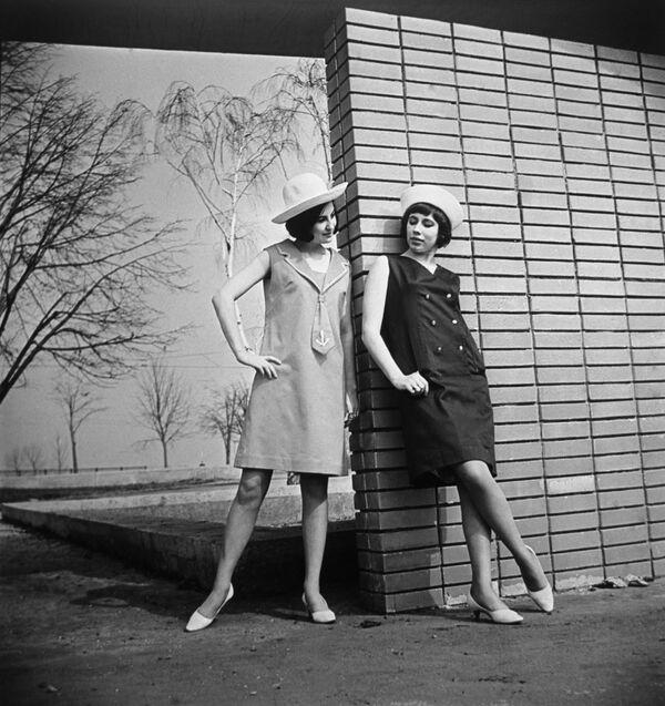 Kolekcja odzieży damskiej, 1966 rok  - Sputnik Polska
