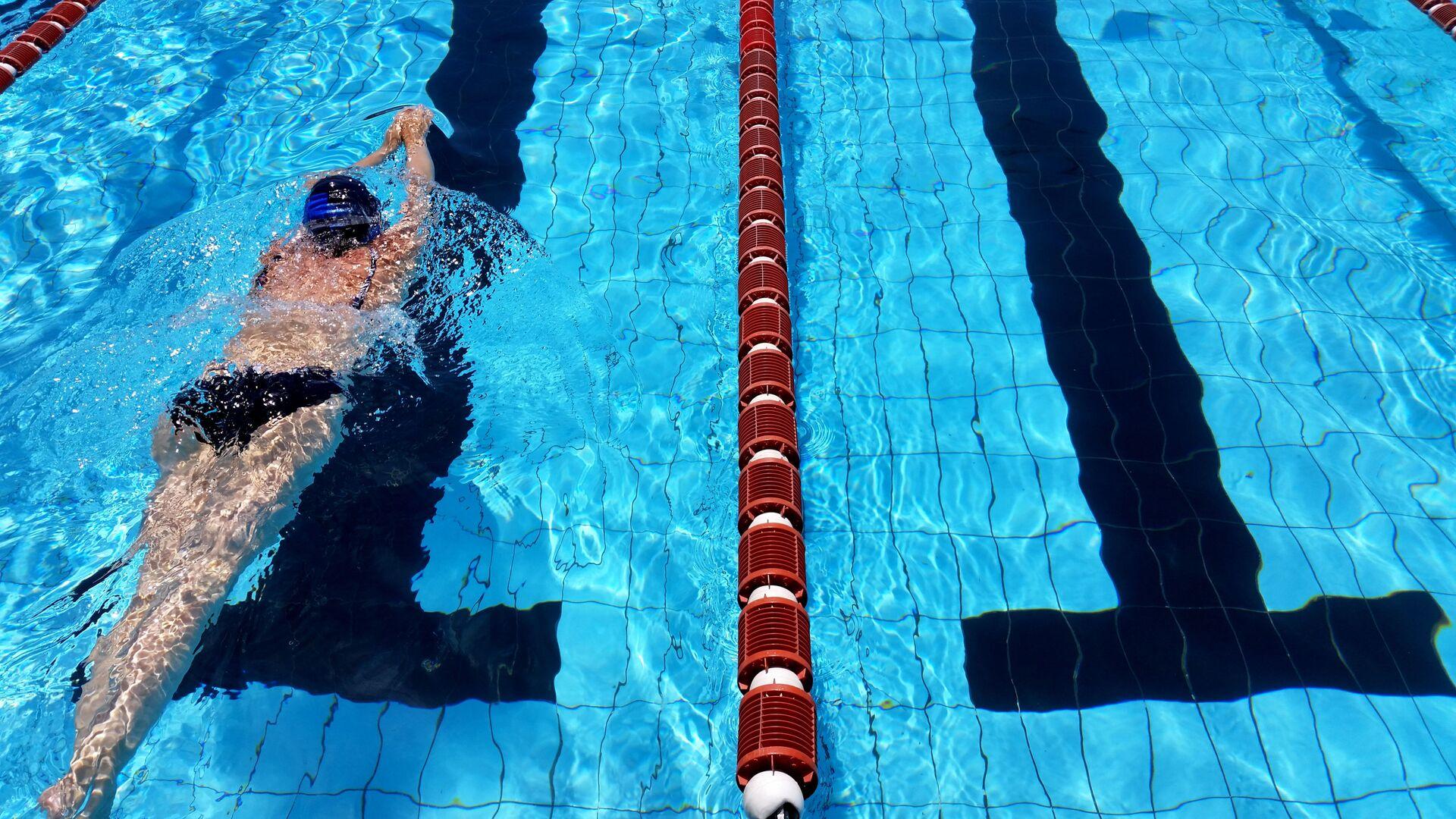 Pływanie na basenie - Sputnik Polska, 1920, 11.04.2021