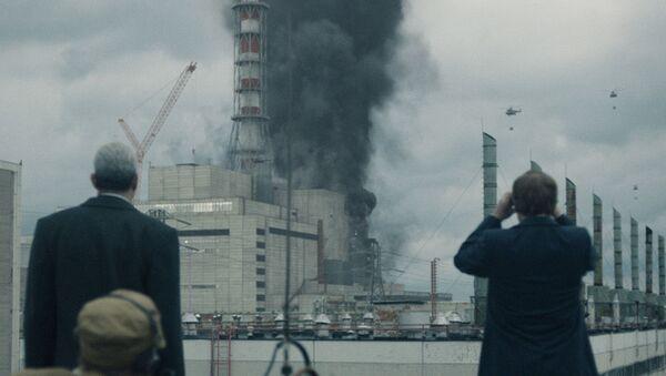 "Kadr z serialu ""Czarnobyl"" - Sputnik Polska"