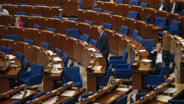Posiedzenie Zgromadzenia Parlamentarnego Rady Europy - Sputnik Polska