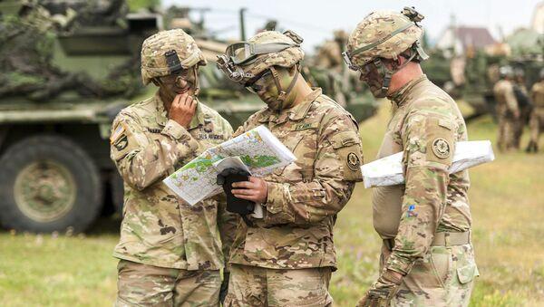 Amerykańscy żołnierze na manewrach Saber Guardian, Rumunia - Sputnik Polska