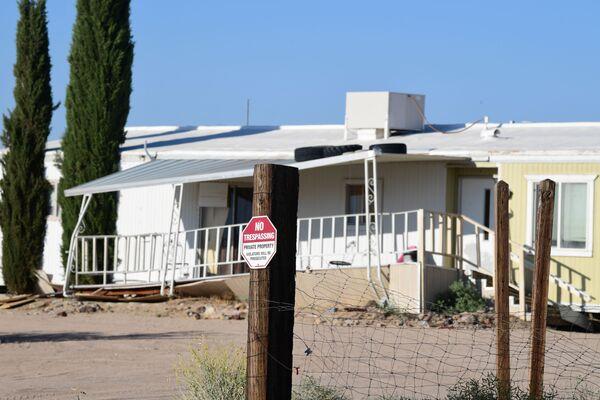 Dom w Ridgecrest zniszczony w wyniku najsilniejszego od 25 lat trzęsienia ziemi w Kalifornii - Sputnik Polska