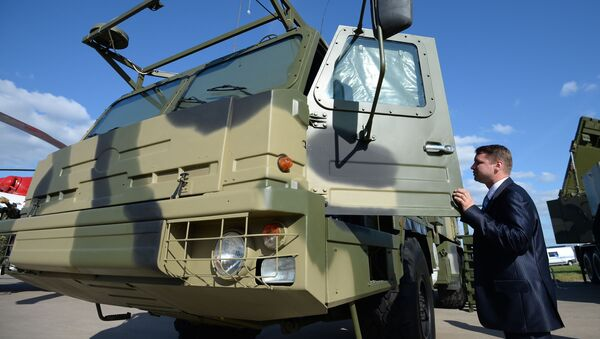 Rakietowy system przeciwlotniczy średniego zasięgu S-350 Witiaź  - Sputnik Polska