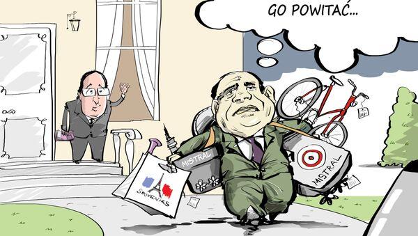 Egipt kupuje przeznaczone wcześniej dla Rosji Mistrale - Sputnik Polska