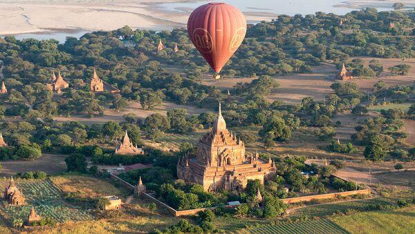 Starożytne miasto Pagan w Mjanmie - Sputnik Polska