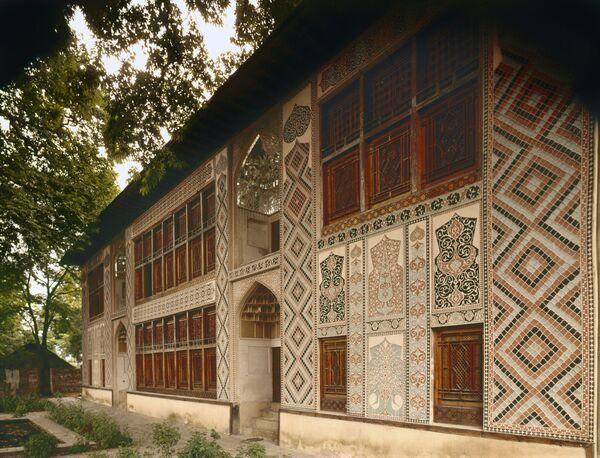 Pałac Chanów Szekijskich w północnym Azerbejdżanie - Sputnik Polska