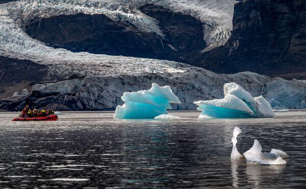 Park narodowy Vatnajökull w Islandii - Sputnik Polska