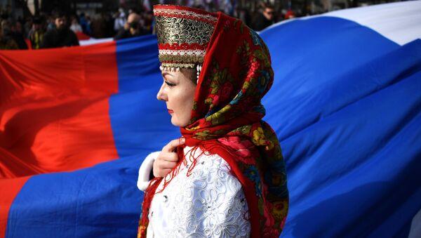 Piąta rocznica powrotu Krymu do Rosji - Sputnik Polska