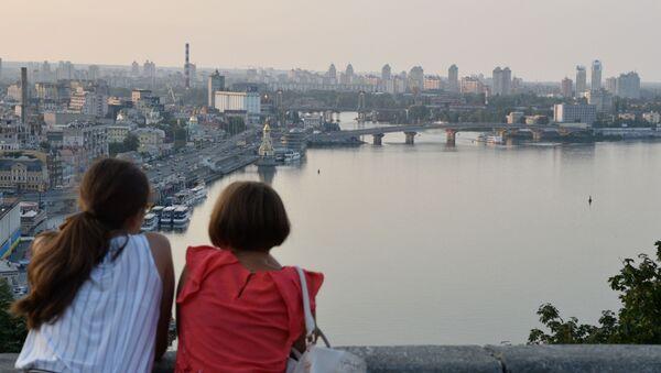 Rzeka Dniepr w Kijowie - Sputnik Polska