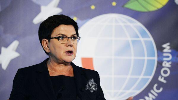 Beata Szydło na Forum Ekonomicznym w Krynicy-Zdrój - Sputnik Polska