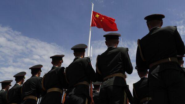 Żołnierze Chińskiej Armii Ludowo-Wyzwoleńczej - Sputnik Polska