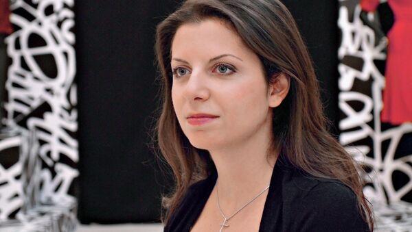 """Redaktor naczelna MIA """"Rossiya segodnya"""" i stacji telewizyjnej RT Margarita Simonian - Sputnik Polska"""