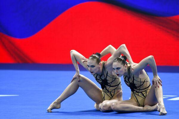 Reprezentacja Rosji na pływackich mistrzostwach świata w południowokoreańskim Gwangju - Sputnik Polska