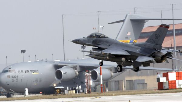 Baza NATO w Aviano  - Sputnik Polska