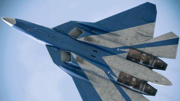 Samolot Su-57 - Sputnik Polska