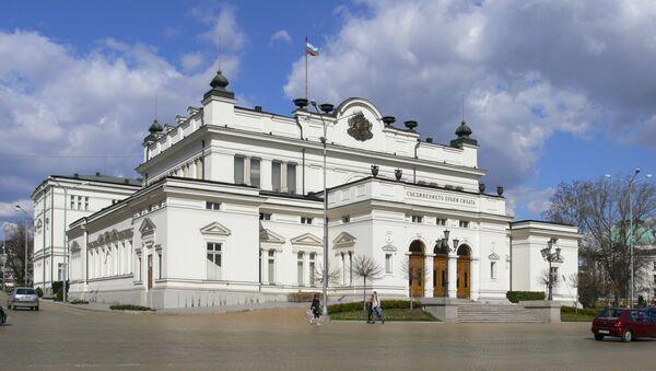 Budynek Zgromadzenia Narodowego Bułgarii w Sofii - Sputnik Polska