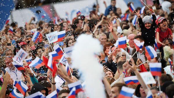 Dzień Rosji w Moskwie - Sputnik Polska