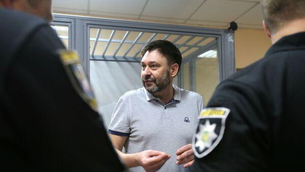 Kiriłł Wyszynski w sądzie w Kijowie - Sputnik Polska