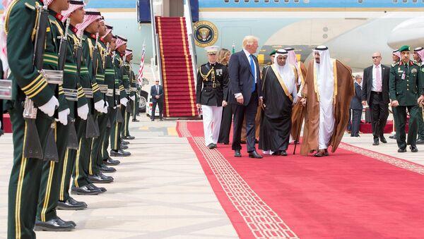 Prezydent USA z wizytą w Arabii Saudyjskiej  - Sputnik Polska