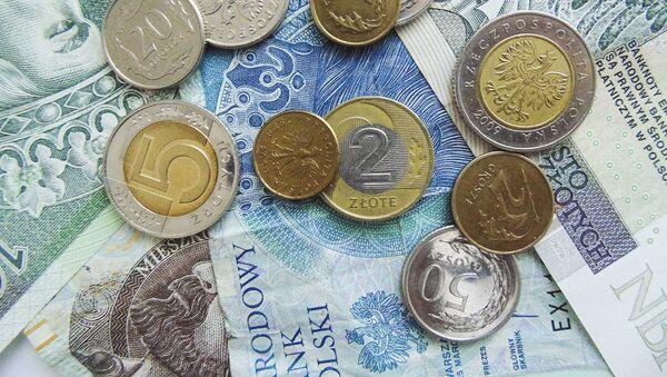 Polskie banknoty i monety - Sputnik Polska