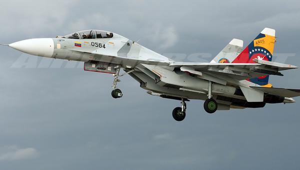 Su-30МК2V sił Wenezueli - Sputnik Polska