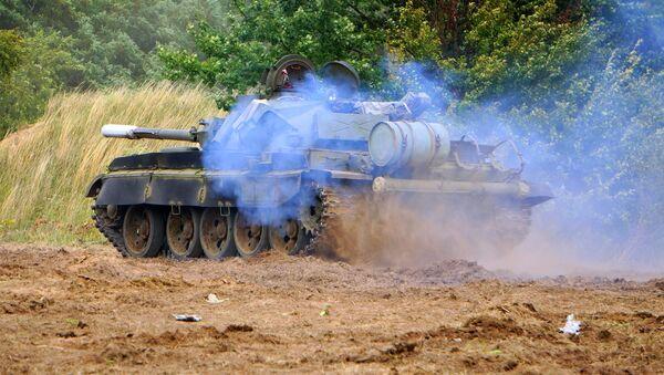 Czołg T-72 polskiej armii - Sputnik Polska