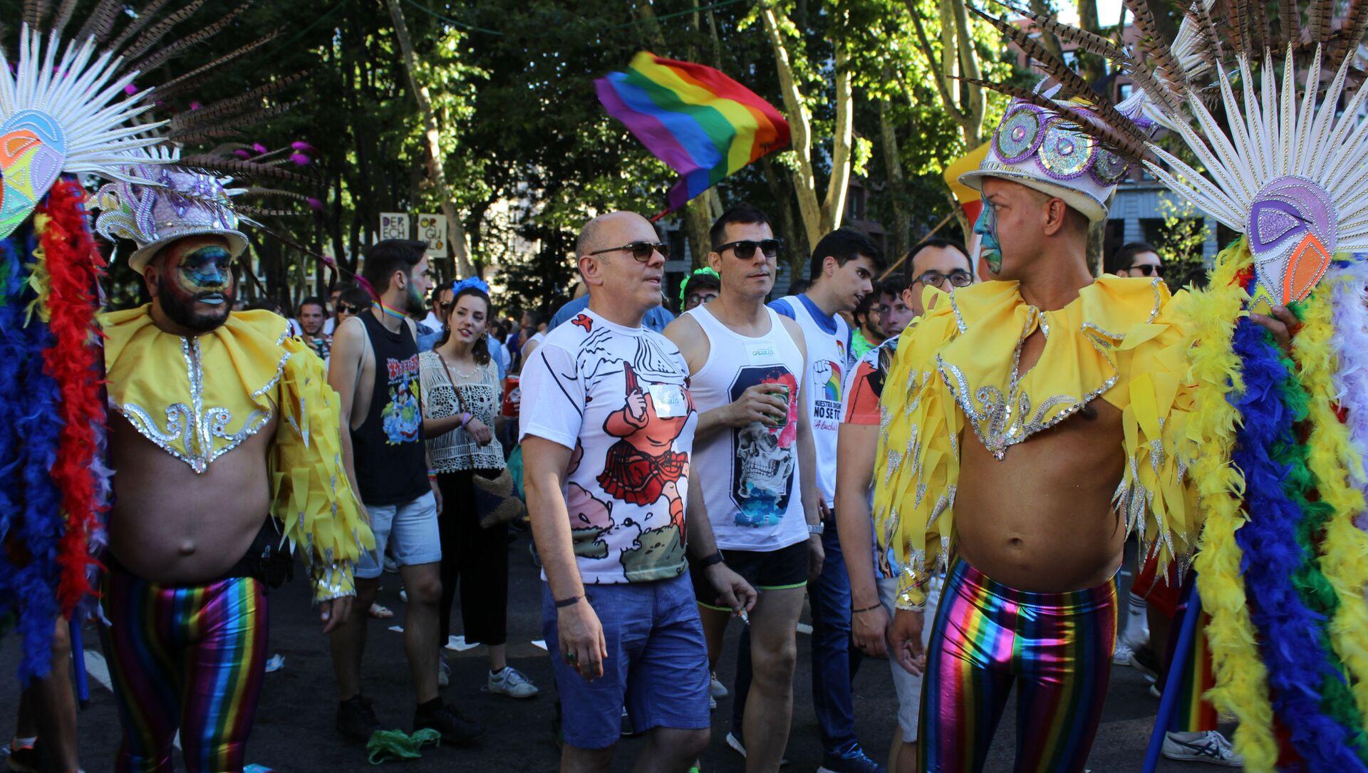 Marsz LGBT w Madrycie - Sputnik Polska, 1920, 05.03.2021