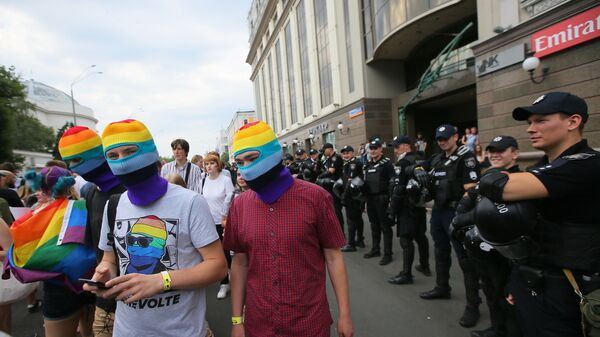 Parada LGBT w Kijowie - Sputnik Polska