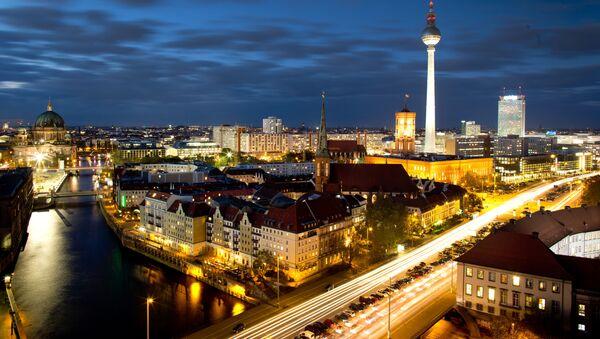 Nocny widok na Berlin - Sputnik Polska