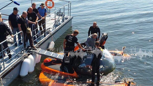Putin nurkował w miejscu zatonięcia okrętu podwodnego - Sputnik Polska