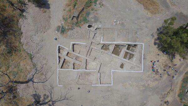 Wykopaliska starożytnego kościoła w Izraelu - Sputnik Polska