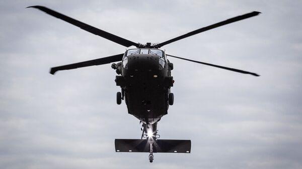 Amerykański śmigłowiec UH-60M Black Hawk - Sputnik Polska