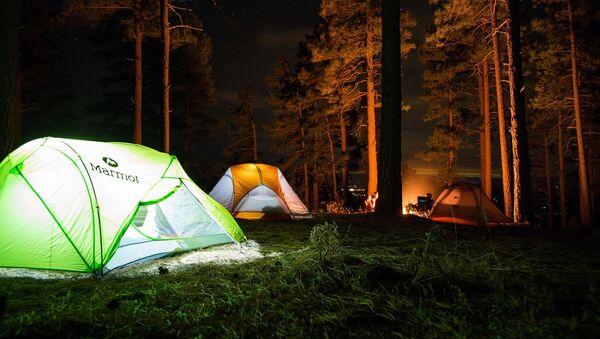Obóz w lesie - Sputnik Polska