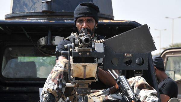 Saudyjski żołnierz na granicy z Jemenem - Sputnik Polska