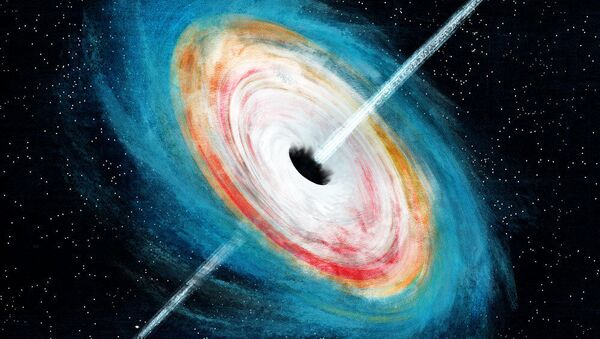Supermasywna czarna dziura - Sputnik Polska