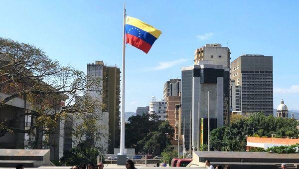 Przechodnie na ulicy Caracas - Sputnik Polska