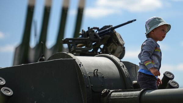 Międzynarodowe forum wojskowo-techniczne Armia 2015 w obwodzie moskiewskim  - Sputnik Polska
