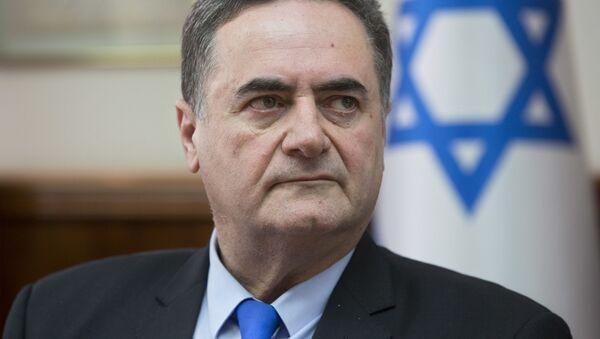 Minister spraw zagranicznych Izraela Jisrael Kac  na posiedzeniu gabinetu ministrów - Sputnik Polska